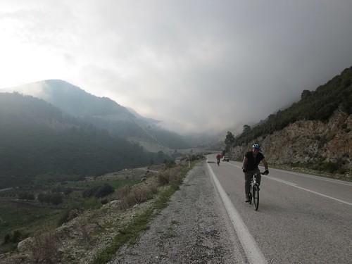 Riding back to üzümlü