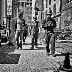 Lunch Break (Ian McKenzie) Tags: street construction downtown edmonton sony streetphotography alberta software nik lightroom a850 colorefex albertahotel ianmckenziephotography silverefexpro2