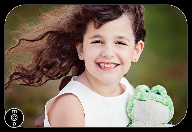 Princess image edited with MCP Actions