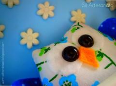 Feita com o corao | Made with heart (Sil Artesanato) Tags: cute hand felt made owl coruja feltro fieltro