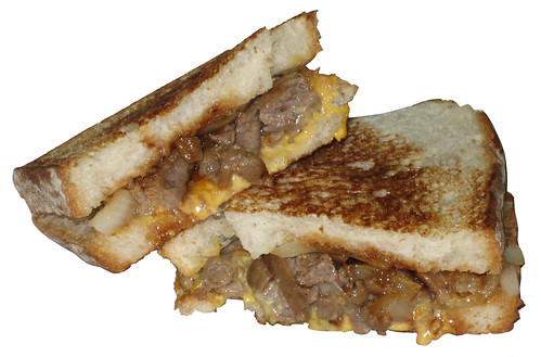 Jack in the Box Bourbon BBQ Steak Grilled Sandwich