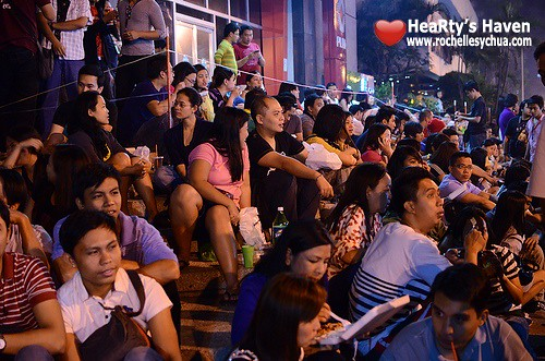 banchetto crowd