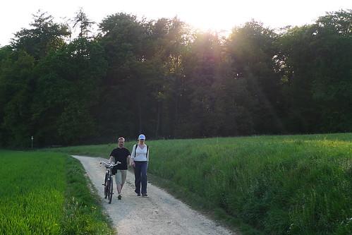Wandergruppe bei Schneidhain