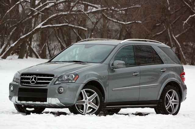 2011 Mercedes Benz ML63 AMG on Pirelli Winter Tires by Pirelli Tire North America