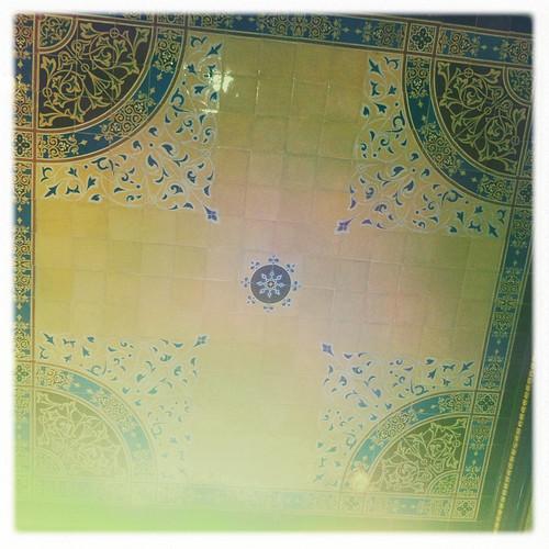 Tile ceiling