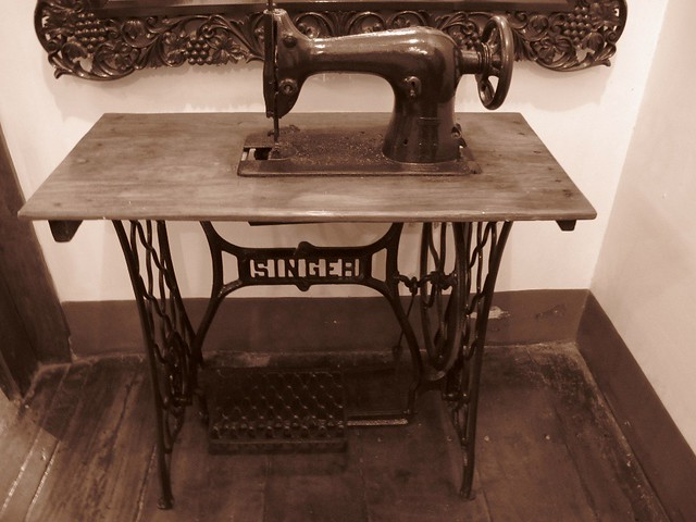 IMAt Grandpa's sewing machine