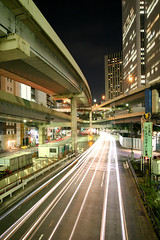 Tanimachi Junction - 16 (Kabacchi) Tags: night tokyo highway  nightview expressway  interchange      jct tanimachijunction ~tanimachijunction~