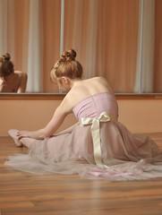 johanna (stefanie.k) Tags: portrait woman girl beauty dance dress dancing availablelight redhead romantic redhair johanna classy ballett ballettdancer