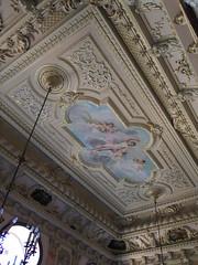 Palace in Estoi / Palcio na Pousada de Estoi (Hugo Carrio) Tags: portugal tile algarve azulejo estoi estoipalace palaciodeestoi pousadadeestoi