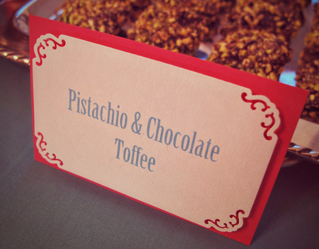 Pistachio & Chocolate Toffee