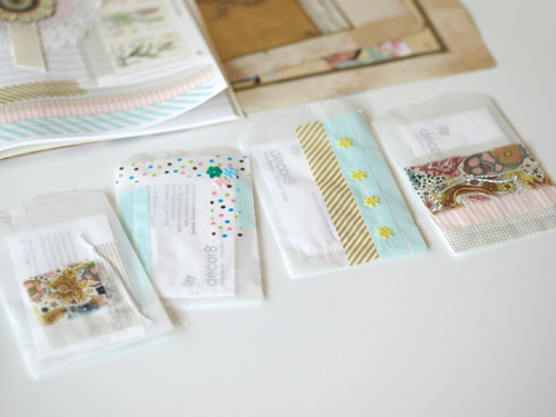 Pretty up your business cards