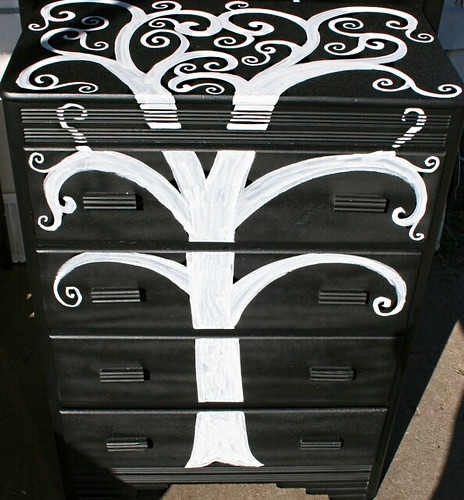 4 Drawer Dresser by Rick Cheadle Art and Designs