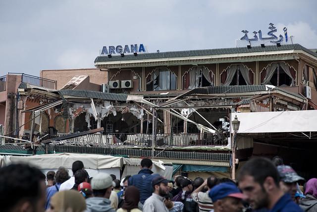 Marrakech Explosion