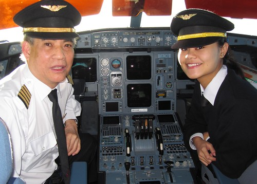 With First Officer Shara Azlin