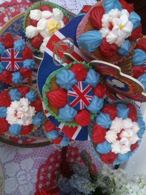 Patriotic Fairy Cakes