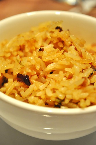 bowl of lotusleaf fried rice