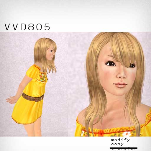 booN VVD805 hair
