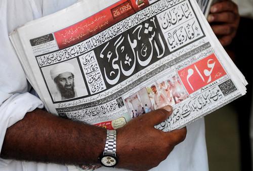La muerte de Bin Laden en un diario de Pakistan