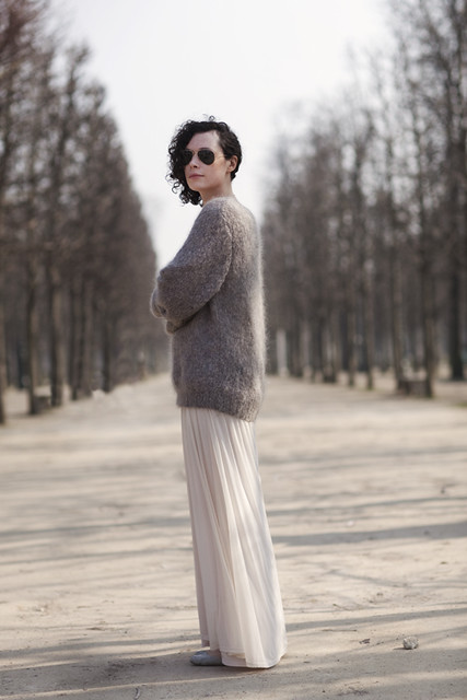 long sweater sartorialist
