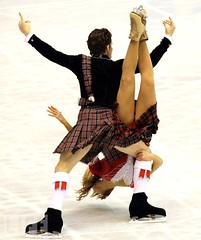 John & Sinead Kerr5 (kilt4142) Tags: sports kilt scottish skaters scot skate upskirt swinging kilts scots tartan kilted scotsman upkilt