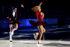 John & Sinead Kerr3 (kilt4142) Tags: kilt scottish skaters scot skate upskirt swinging kilts scots tartan kilted upkilt