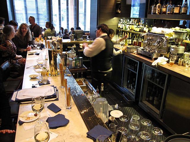 Tableau Bistro bar area
