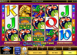 Oriental Fortune slot game online review