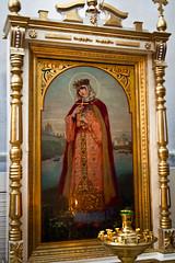 St. Olga icon (huldu_folk) Tags: winter church ancient russia icon christian holy orthodox pskov stolga