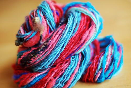Caitlin's bday yarn