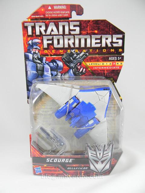 Transformers Scourge Generations - caja