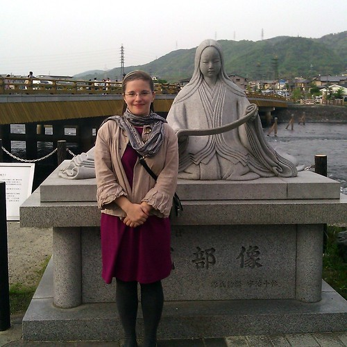 me and Murasaki Shikibu