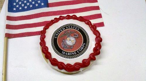 Military cookies-Marine Corps Cookies