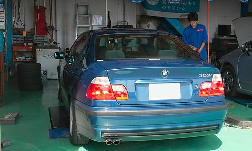 E46 Tire-change