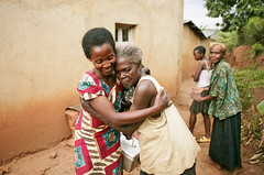 Health Worker Visits Elderly Woman (The Global Fund) Tags: rural women kigali rwanda health care tb tuberculosis eldery theglobalfund