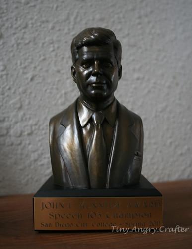 JFK bust
