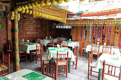 Inside Cevicheria Sonia