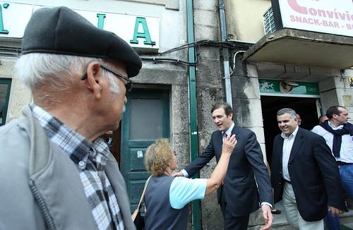 Pedro Passos Coelho arruada Vila Pouca de Aguiar