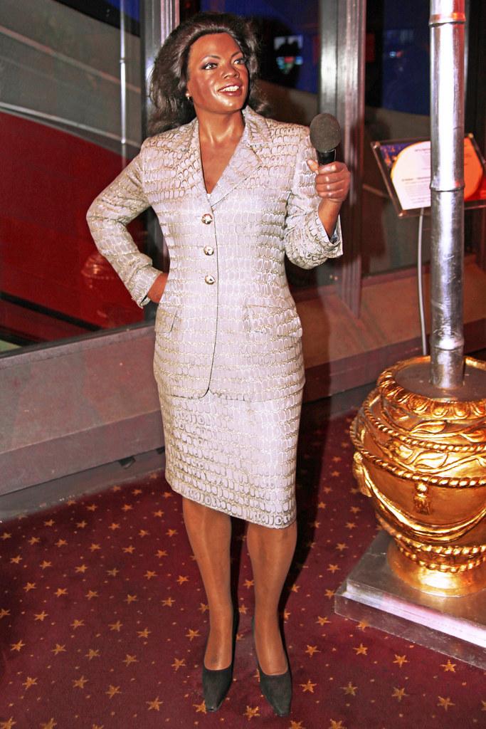 Oprah Winfrey at Madame Tussaud's  Wax Museum in Las Vegas Nevada