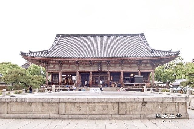 四天王寺舞台