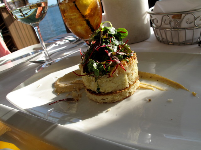 Crabcake at Top of the Market