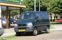 Suzuki Carry 2000 (XBXG) Tags: auto haarlem netherlands car japan asian japanese automobile 2000 nederland voiture suzuki paysbas japon carry asiatique japonaise sidecode6 40vplf