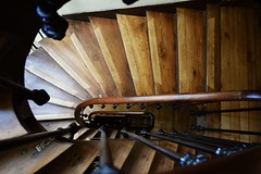 sadness is a blessing. (Firstlightofsummer) Tags: wood old paris stairs vintage sadness iron artistic staircase railing apartmentbuilding spiraling imissitsomuch lykkeli