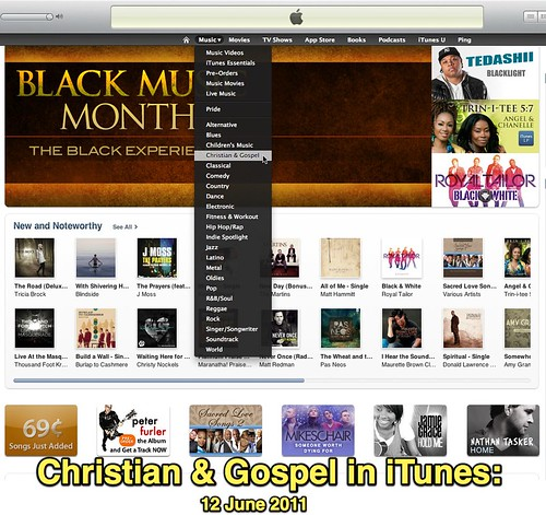 Christian & Gospel in iTunes