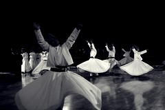 Whirling Dervishes in the land of Sufism (Electra K. Vasileiadou) Tags: travel bw monochrome turkey nikon asia europe islam religion middleeast ottoman traveling sufism anatolia konya whirlingdervishes mevlana semazen greekphotographers ηλέκτρα έλληνεσφωτογράφοι d3100 dervished electravk