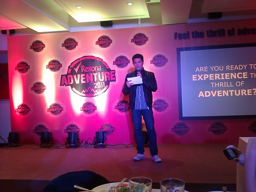 DJ John Hendrix at Rexona Adventure Launch
