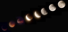 "Eclipse lunar 15 de junio de 2011""EXPLORE"" (misteriosatotal) Tags: moon eclipse luna"