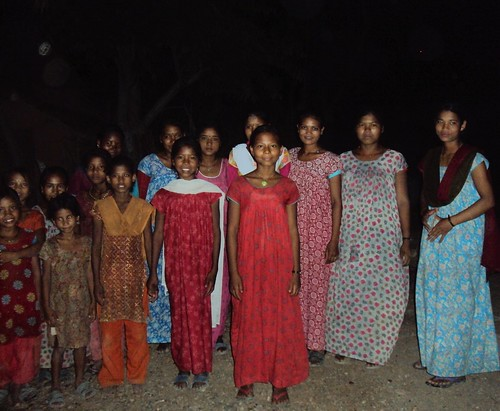 Girls of Kothari Village, some of them are rescued kamalari. Photo by: Maelanny P