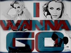 I Wanna Go (Guardian~) Tags: blue red art spears femme go britney fatale wanna blend