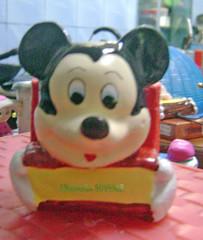 Gypsum tempat pensil mickey