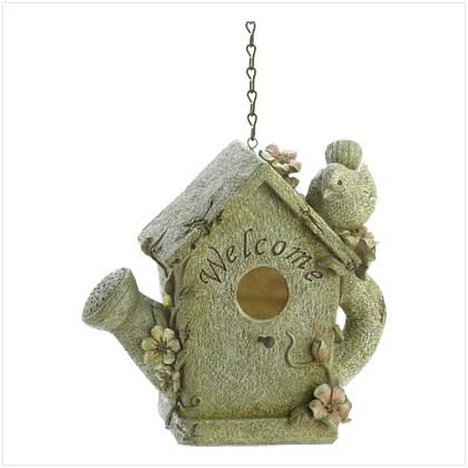 WHIMSICAL WELCOME BIRDHOUSE B39538